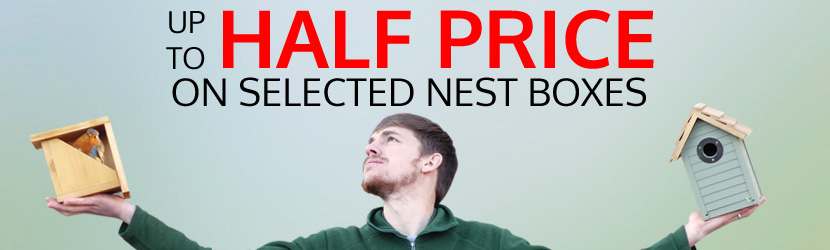 Up to Half Price Nest Boxes